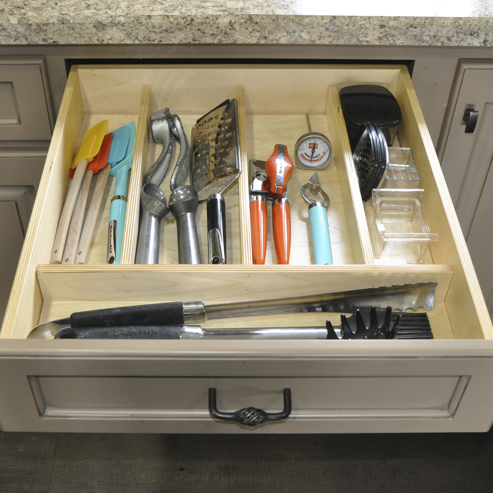 shop a organizer in insert drawer wood pd x cutlery rev shelf flatware